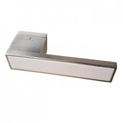 Ручки Ilavio 2366 матовый хром/белый