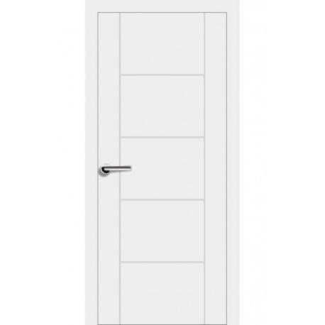 Двери Брама 7.3 ПГ - Белая эмаль