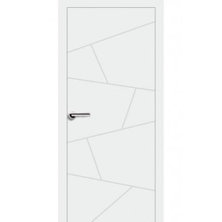 Двери Брама 7.06 ПГ - Белая эмаль