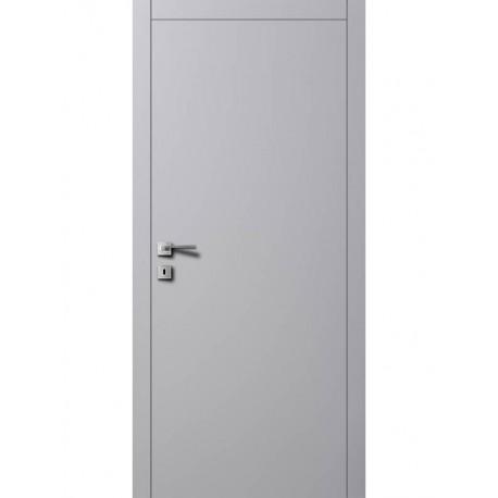 Двери Авангард A1 RAL 7004 серый шелк