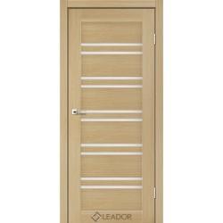 Двери Leador SICILIA Дуб мокко- сатин белый