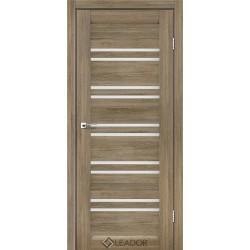 Двери Leador SICILIA Серое дерево - сатин белый