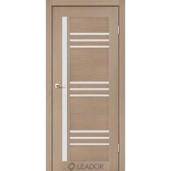 Двери Leador COMPANIA Дуб мокко - сатин белый