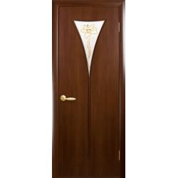 """Дверь """"Бора"""" орех 3d"""