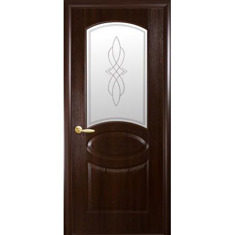 """Дверь межкомнатная """"Овал"""" - Каштан"""