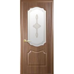 """Дверь """"Вензель"""" - Золотая ольха"""