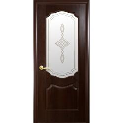 "Дверь межкомнатная ""Вензель"" - Каштан"