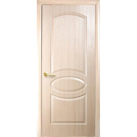 """Дверь межкомнатная глухая """"Овал"""" - Ясень"""