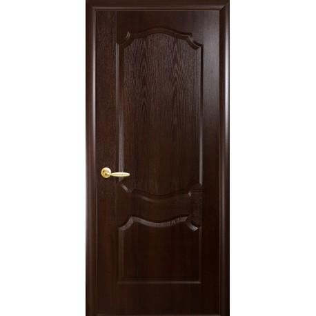 """Дверь межкомнатная глухая """"Вензель"""" - Каштан"""