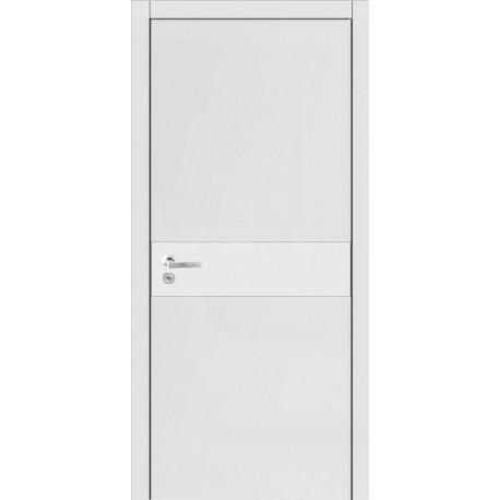 Двери Стайл 1 - Белая эмаль
