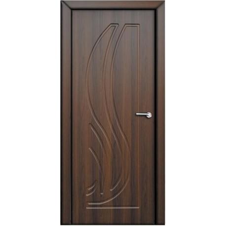 """Двери """"Сабрина"""" орех шоколадный"""
