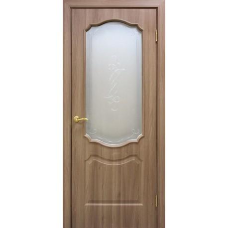 Дверь Прима ПВХ СС+КР Дуб золотой