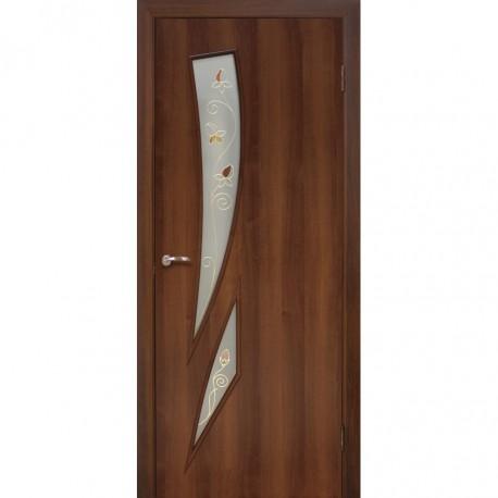 Двери Фиеста СС+КР орех