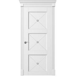 Двери Рим-Венециано - Белая эмаль