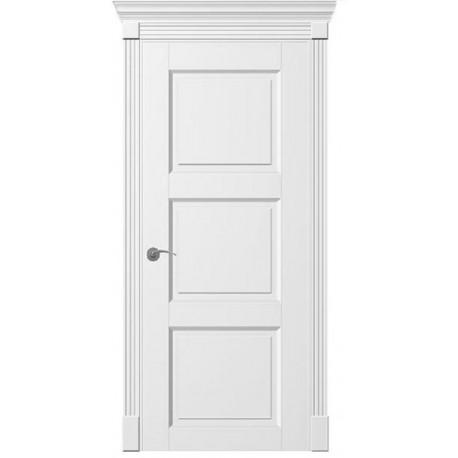 Двери Рим ПГ - Белая эмаль