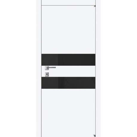 Двери Авангард А2.2 S ПГ - Белая эмаль