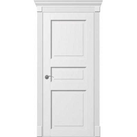 Двери Тесоро К3 ПГ - Белая эмаль