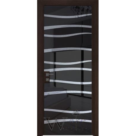 Bogemia 40.02 венге/стекло окрашенное