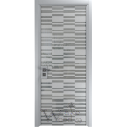 Bogemia 04.054 металик/стекло крашенное с рисунком пескоструй