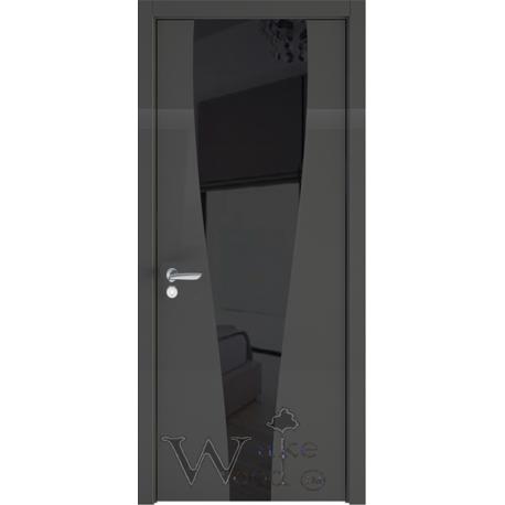 Soft 13.RAL 01/стекло окрашенное черное