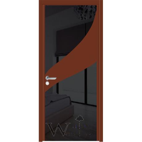 Soft 16.RAL 31/стекло окрашенное черное