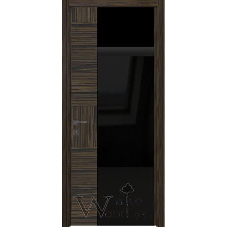 Unica 03.03 Эбони/стекло окрашенное черное