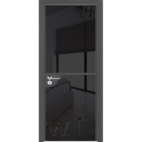 Solo 03.022 венге седой/стекло окрашенное черное
