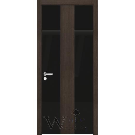 Qesta Vip 02.02 Венге/стекло окрашенное черное