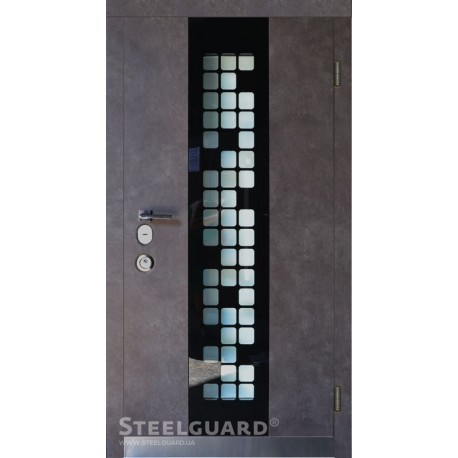 Входные двери Steelguard Manhattan Grey Light