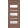 Двери Новый стиль Лилу Дуб жемчужный (стекло сатин)