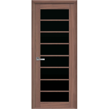 Виола - Орех 3d - черное стекло