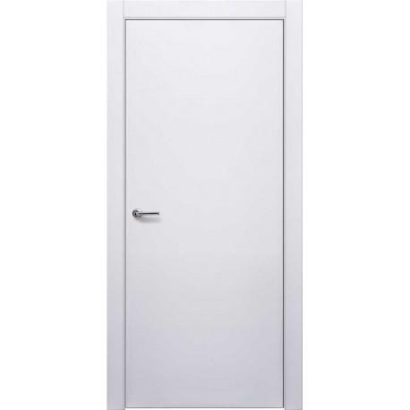 Двери Нордика 101 ПГ - Белая эмаль