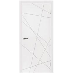 Двери Норд 164 ПГ - Белая эмаль