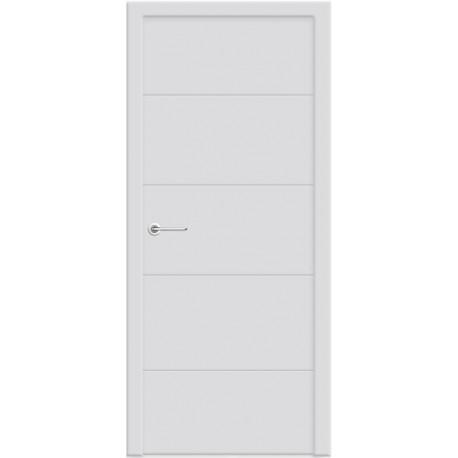 Двери Стайл 4 - Белая эмаль