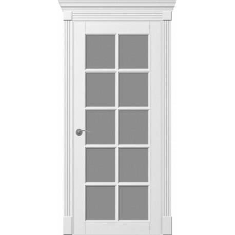 Двери Ницца - Белая эмаль