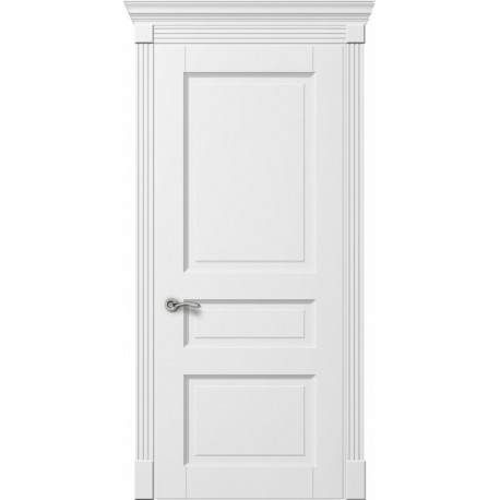 Двери Лондон ПГ - Белая эмаль