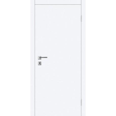 Двери Авангард А1 ПГ - Белая эмаль